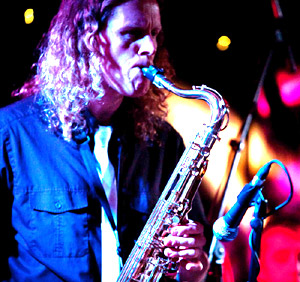 Dave J Ford on Tenor Sax